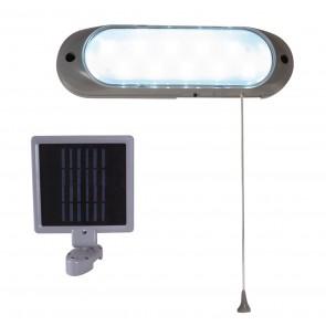 LED Leuchte mit Solarstation