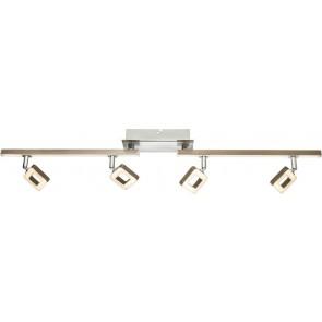 SALLOA LED Strahler Chrom, nickel matt, 1xLED