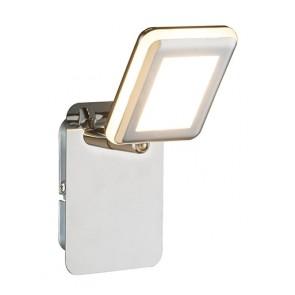 TRYSTAN LED Strahler Chrom, 1xLED