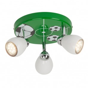 Soccer, LED, 3-flammig