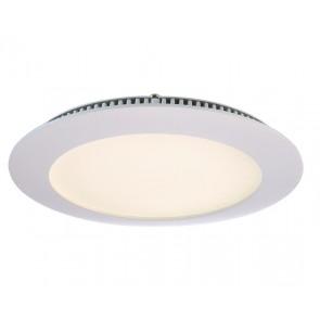 LED Panel 12, weiß, warmweiß