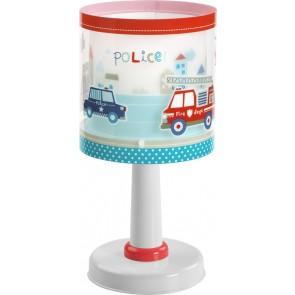 Police, E14, Höhe 30 cm, bunt