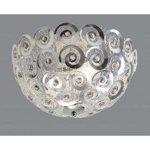 Spiralli Ø 40 cm metallisch 1-flammig rund