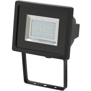 SMD-LED, IP44,12W, schwarz, tageslichtweiß, Wandmontage