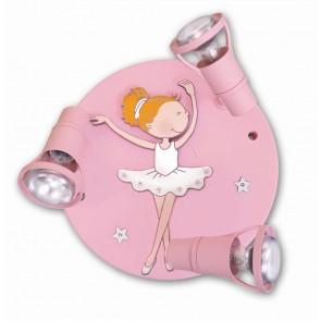 Ballerina Round mit Swarovski-Steinen