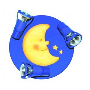 Waldi Leuchten La Luna Round dunkelblau