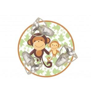 Deckenleuchte Affe 3-flammig