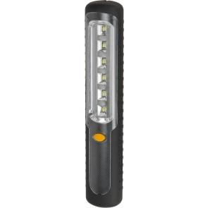6 LED Akku-Handleuchte HL DA 6 DM2H mit Dynamo mit Haken und Magnet
