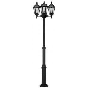 SL Mast, 3-flammig, schwarz