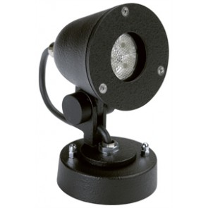 WL Strahler, schwarz, LED