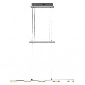 Transit, LED, 5-flammig, IP20, höhenverstellbar, metallisch