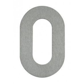 Hausnummer 0, Edelstahl