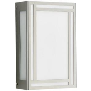 WL-DL, Edelstahl, LED, silber, 28,5 x 18,5 cm