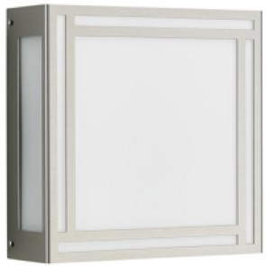 WL-DL, Edelstahl, 25,5 x 25,5 cm