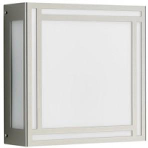 WL-DL, Edelstahl, LED, silber, 25,5 x 25,5 cm