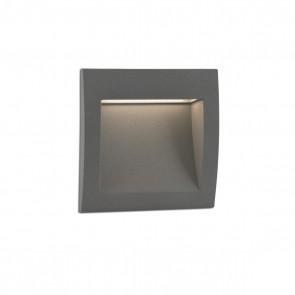 Sedna-1 Recessed Grey Smd LED 1W 3000K