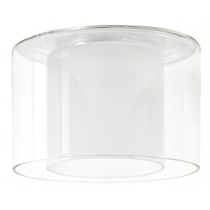 Living DecoSystems Schirm Twice Ø 10 cm transparent rund