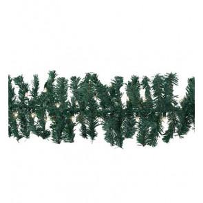 Garland grün, warmweiß, 5 m + Zuleitung