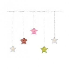 Isabella, 10 Sterne, mehrfarbig