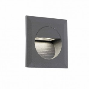 Mini Carter Recessed Dark Grey LED 4000K