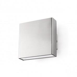 Kaula 9 x 9 cm metallisch 1-flammig quadratisch