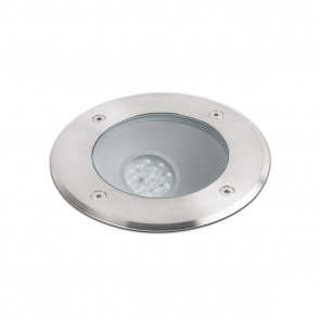Salt Recessed Asymetric LED 9W 3000K Ss316