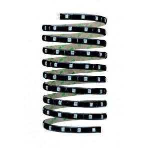 Function YourLED Stripe 3m RGB 28,8W 12V DC Schwarz Kunststoff
