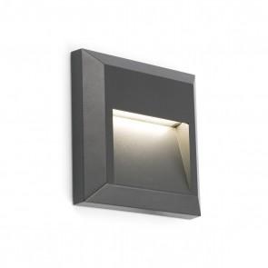 Grant-C WL, Dark Grey LED 1W 3000K
