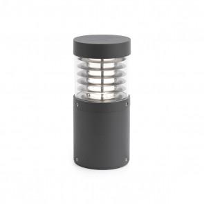 Giza Post Lamp Dark Grey Cob LED 15W 3000K