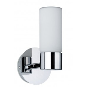 WallCeiling Eleon WL IP44 max 33W G9 Chrom/Satin 230V Metall/Glas