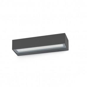Toluca WL, Dark Grey LED 16W 3000K
