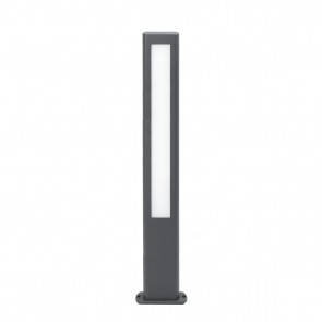 Nanda Bollard Dark Grey H800 LED 12,5W 3000K