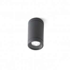 Olot DL, Surface Mounted Dark Grey Gu10 35W