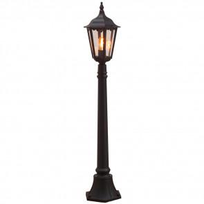 Firenze, E27, IP43, Höhe 120 cm, dimmbar, schwarz