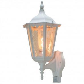 Firenze mit Bewegungsmelder Höhe 48 cm weiß 1-flammig eckig