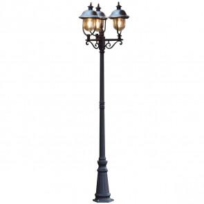 Parma Höhe 218 cm schwarz 3-flammig rund B-Ware