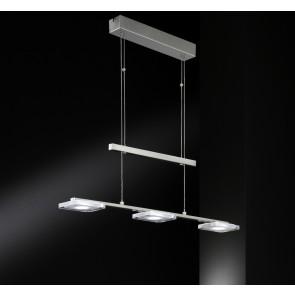 Vileta, 3-flammig, höhenverstellbar, dimmbar, inkl LED