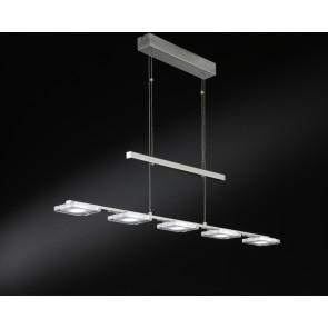 Vileta, 5-flammig, höhenverstellbar, dimmbar, inkl LED
