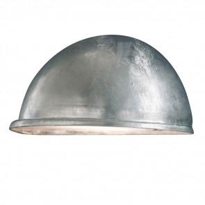 Torino Breite 28 cm metallisch 1-flammig halbrund