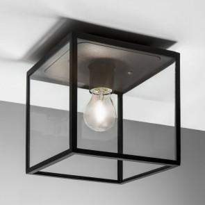 Box, 1 x E27 60w max, schwarz, Breite 2