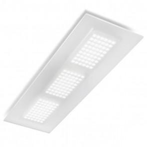 Dublight Plaf Rett LED 35W Plex Sat