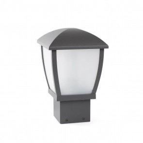 Mini Wilma Post Lamp Dark Grey