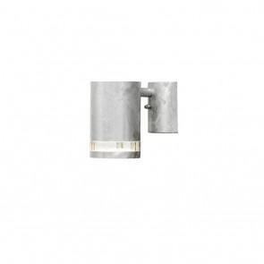 Modena Wandleuchte, Höhe 13,5cm, galvanisierter Stahl