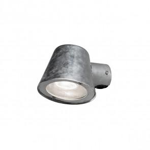 Trieste Tiefe 16 cm metallisch 1-flammig rund