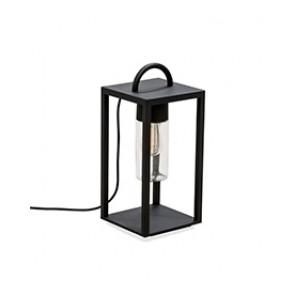 Bologna Höhe 45,5 cm schwarz 1-flammig quaderförmig  B-Ware