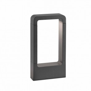 Das Bollard Dark Grey Cob LED 8W 3000K H30