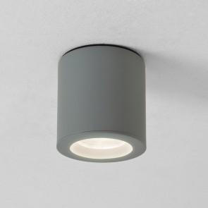 Kos (7177), rund, silber lackiert, IP65, Ø 8 cm