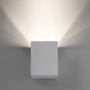 Astro Parma LED 100, weißer Gips, überstreichbar, 1x 3