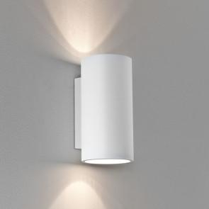 Bologna 240 Höhe 24 cm weiß 2-flammig zylinderförmig