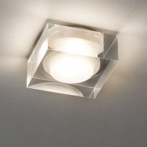 Vancouver 45 Square, Chrom poliert, 1 x LED 2,